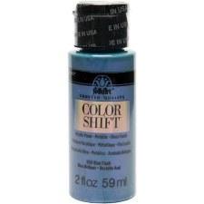 FolkArt Color Shift Metallic Acrylic Paint, 2oz- Blue Flash