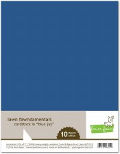 Lawn Fawn Cardstock Pack- Blue Jay