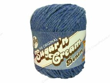 Sugar 'n Cream Yarn- #1116 Blue Jeans