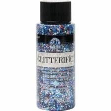 FolkArt Glitterific Glitter Paint, 2 oz- Blue Moon