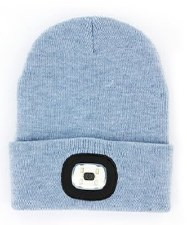 Night Scout Rechargable LED Beanie- Blue