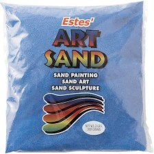 Estes' Art Sand, 2lb Bag- Blue