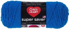 Red Heart Super Saver Yarn- Blue