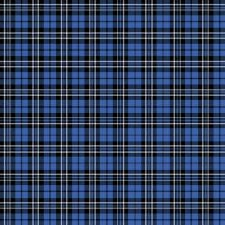 Reminisce Plaid 12x12 Paper- Blue Tartan