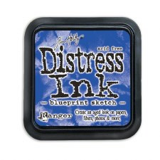 Tim Holtz Distress Ink- Blueprint Sketch Ink Pad