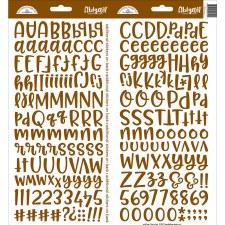 Abigail Alphabet Sticker- Bon Bon