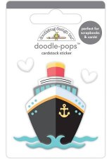 I (Heart) Travel Doodle-Pops- Bon Voyage