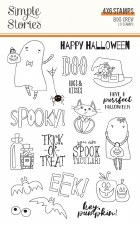 Boo Crew Clear Stamp Set