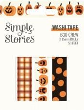 Boo Crew Washi Tape 3pk