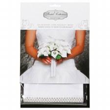 Bouquet Wrap- Satin & Rhinestones