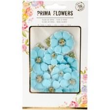 Prima Flower Embellishments- Beads & Flocking- Boreal