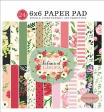 Botanical Garden 6x6 Paper Pad