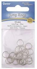 Jump Rings, 10mm- 20ct
