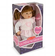 "Melissa & Doug Mine to Love 12"" Doll- Brianna"
