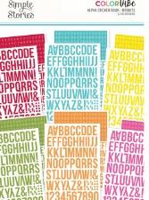 Color Vibe Alphabet Sticker Book- Brights