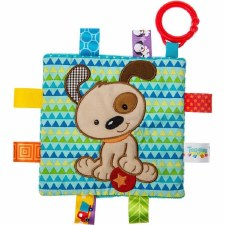 Taggies Crinkle Me Baby Toy- Brother Puppy