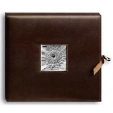 Pioneer Leatherette Album Box- Brown