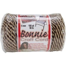 Bonnie 6mm Craft Cord- Brownie