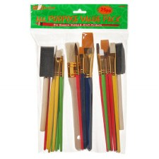 Brushes, All Purpose Value Pack, 25ct