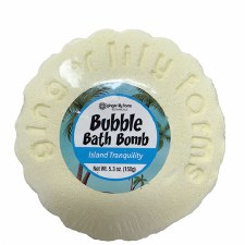 Bubble Bath Bomb, 5.3oz- Island Tranquility