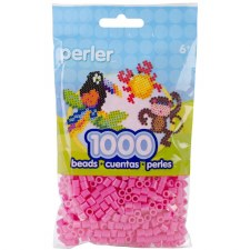Perler Beads 1000 piece- Bubblegum