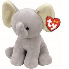 Ty Beanie Babies- Bubbles the Baby Elephant