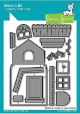 Lawn Fawn Build-a-House Craft Dies