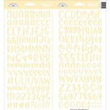 Abigail Alphabet Sticker- Bumblebee