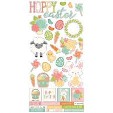 Bunnies & Baskets Stickers