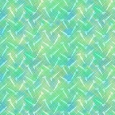 Bunny Meadow Bolted Fabric- Spring Green
