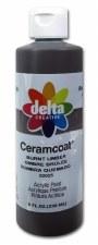 Delta Ceramcoat Acrylic Paint, 8oz- Burnt Umber