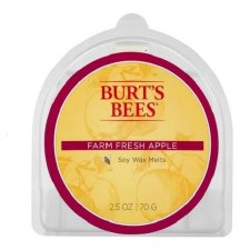 Burt's Bees Soy Wax Melt- Farm Fresh Apple
