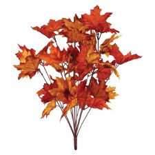 "20"" Fall Leaf Bush"