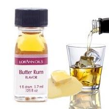 Oil Flavoring, 1fl dram- Butter Rum