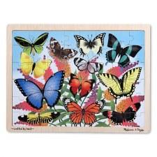 Melissa & Doug Jigsaw Puzzle- Butterfly Garden