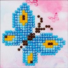 Diamond Facet Art Starter Kit- Butterfly Sparkle