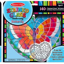 Melissa & Doug Stained Glass Made Easy- Butterfly