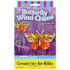 Creativity for Kids Craft Kit- Butterfly Wind Chime