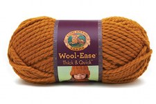 Wool Ease Thick & Quick Yarn- Butterscotch