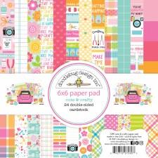 Cute & Crafty 6x6 Paper Pad