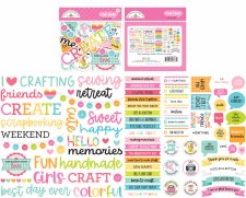 Cute & Crafty Die Cuts- Chit Chat