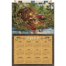 2022 Felt & Sequin Calendar Kit- Cabin Life