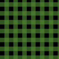 Cabin Welcome Bolted Flannel- Buffalo Check, Green