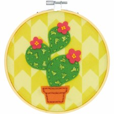 Learn 2 Craft Felt Applique Kit- Cactus