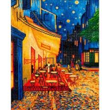 Diamond Facet Art Kit- Van Gogh's Cafe At Night
