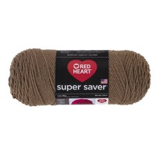 Red Heart Super Saver Yarn- Cafe