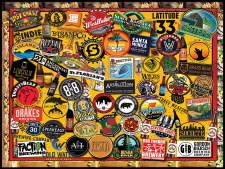 Craft Beer, California - 1,000 Piece Puzzle