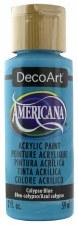 Americana Acrylic Paint, 2oz- Blues: Calypso Blue