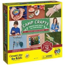 Creativity for Kids Craft Kit- Camp Crafts