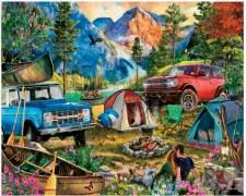 Camping Trip - 1,000 Piece Puzzle